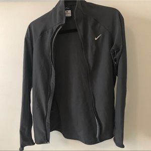 Nike Dry Fit Zip Up Athletic Jacket